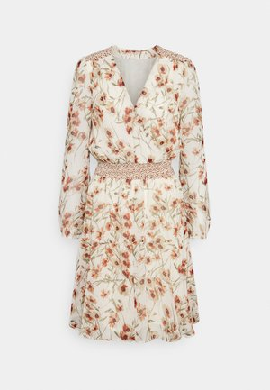 DRESS BIG FLOWER - Day dress - multi-coloured