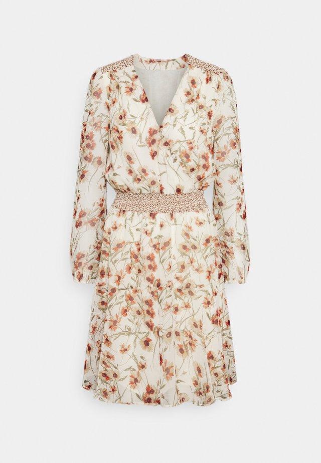 DRESS BIG FLOWER - Korte jurk - multi-coloured