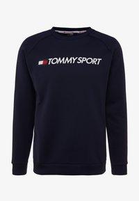 Tommy Sport - LOGO CREW NECK - Sweatshirt - sport navy - 3