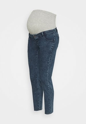 MLVENTURA CROPPED SLIM - Slim fit jeans - blue denim