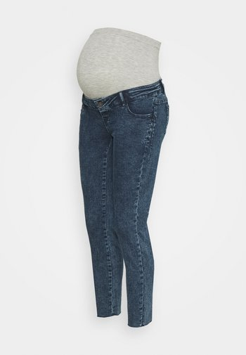 MLVENTURA CROPPED SLIM - Slim fit jeans - blue denim