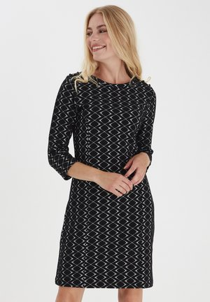 FRMEVAR 1 - Jersey dress - black mix