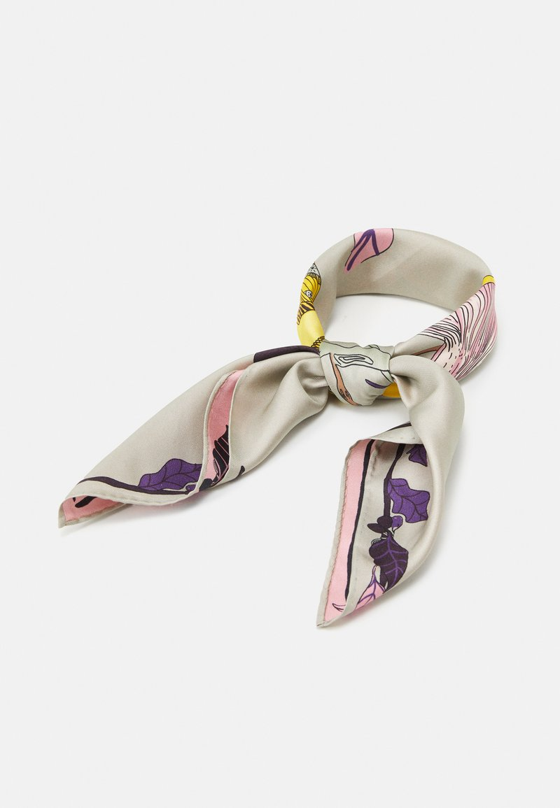 Tory Burch - MUSHROOM PARTY NECKERCHIEF - Foulard - multi-coloured