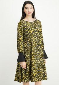 Nicowa - NABITA - Day dress - yellow - 0