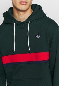 adidas Originals - SAMSTAG HOODY - Sweat à capuche - grnnit - 5