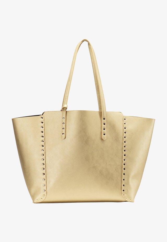 SHOPPER - Handtas - gold metallic