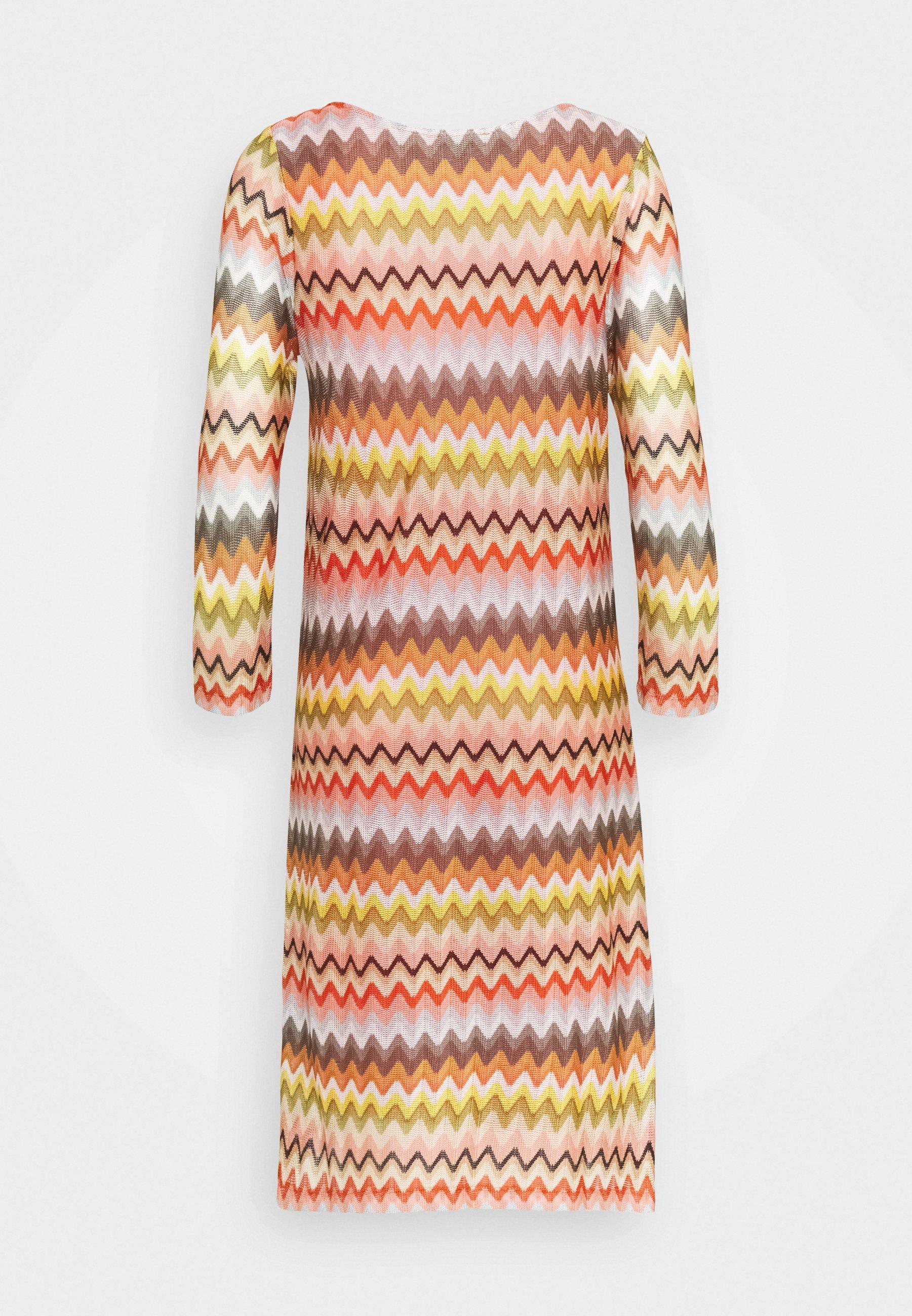 Women ZICKZACK DRESS - Day dress