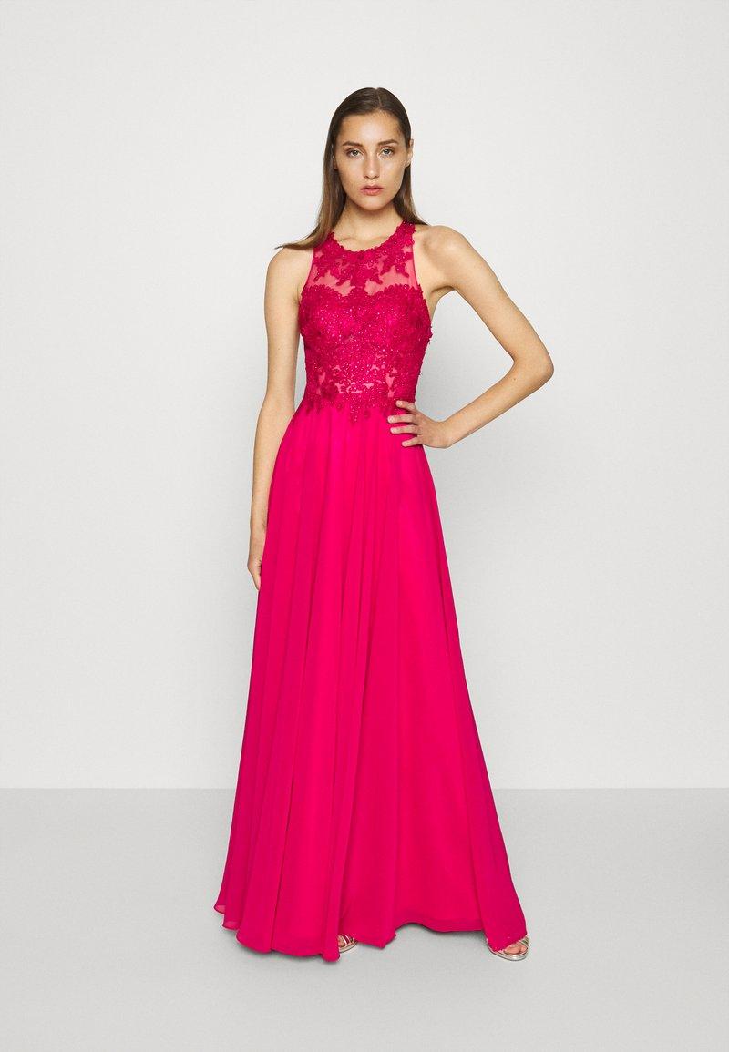Mascara - Vestido de fiesta - lipstick pink