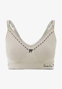 Cache Coeur - BREASTFEEDING BRASSIERE NURSING - Triangle bra - beige - 4