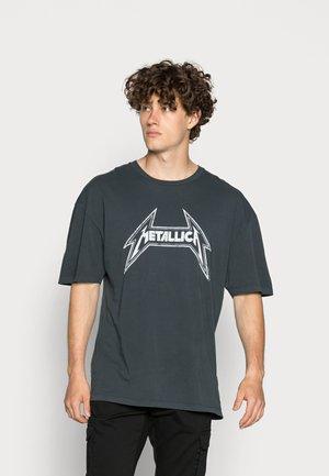 METALLICA - T-shirt print - anthracite