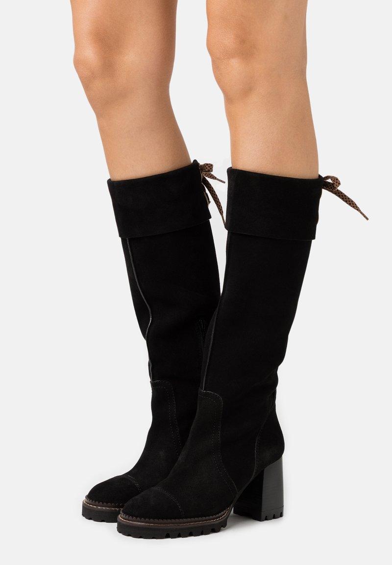 See by Chloé - Vysoká obuv - nero