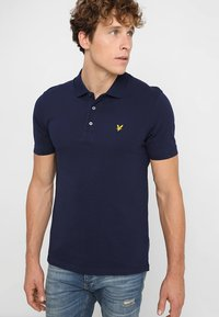 Lyle & Scott - Polotričko - navy - 0