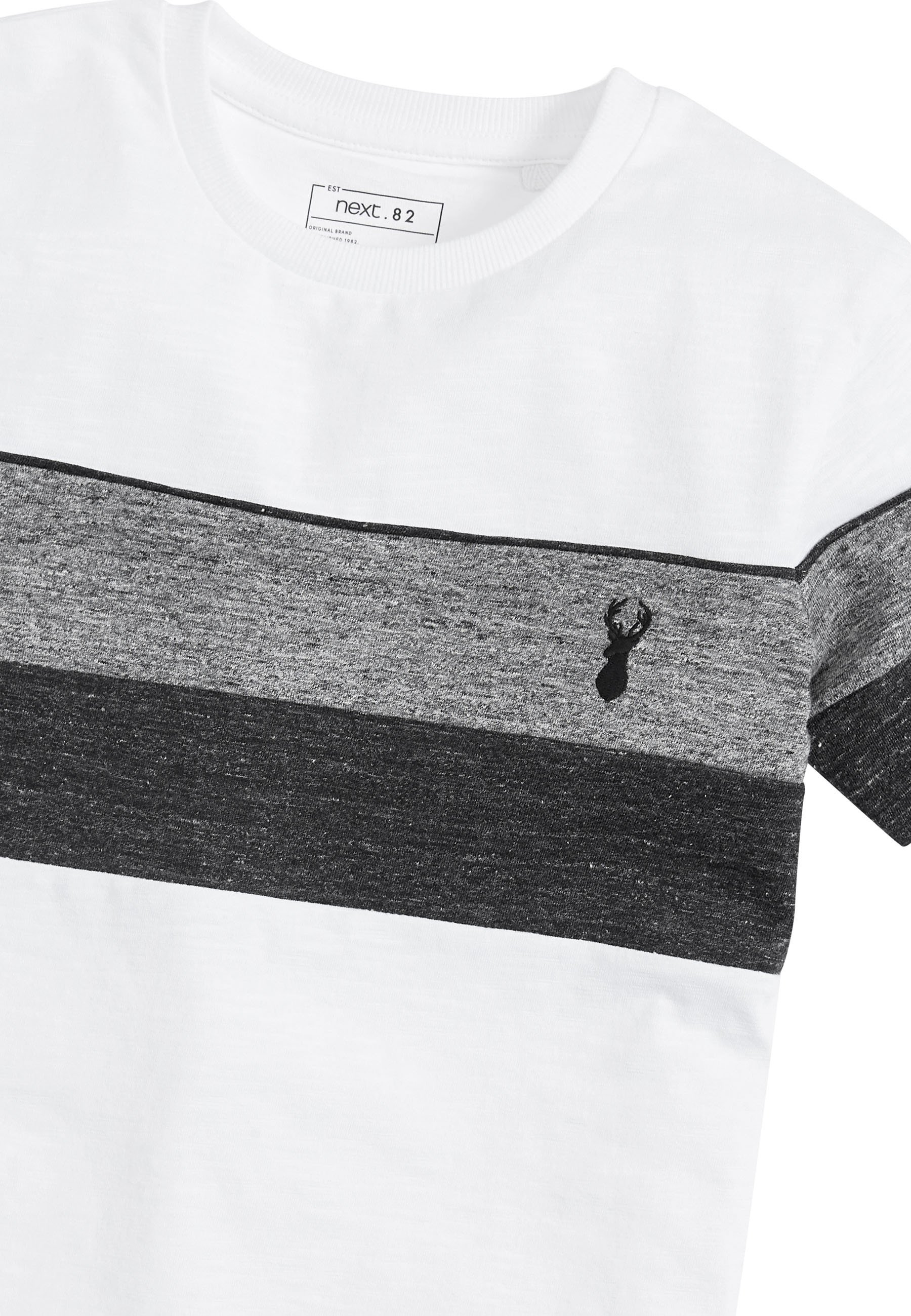 Kinder MONOCHROME TEXTURED COLOURBLOCK - T-Shirt print