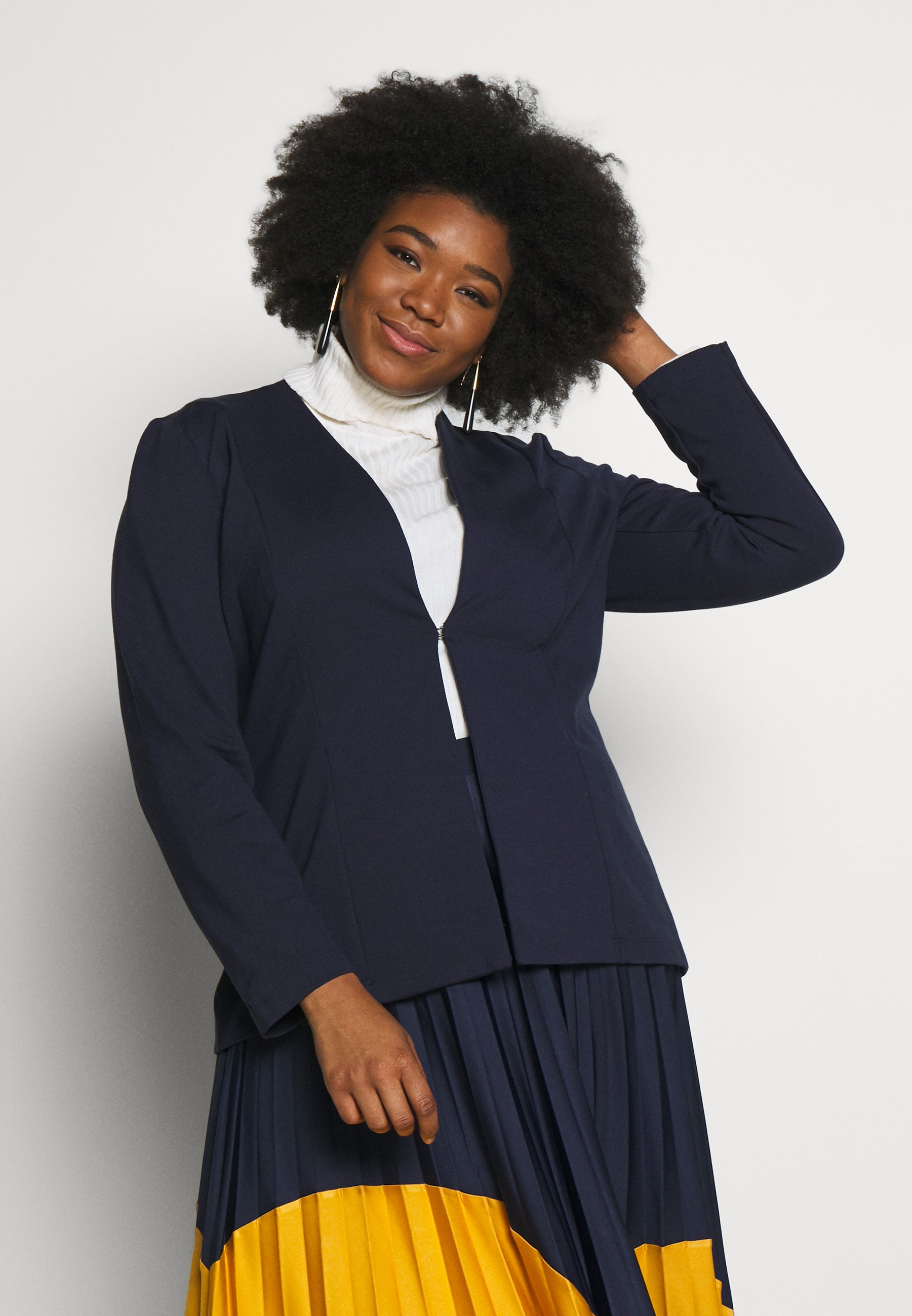 Damen RELAXED BLAZER - Blazer - real navy blue