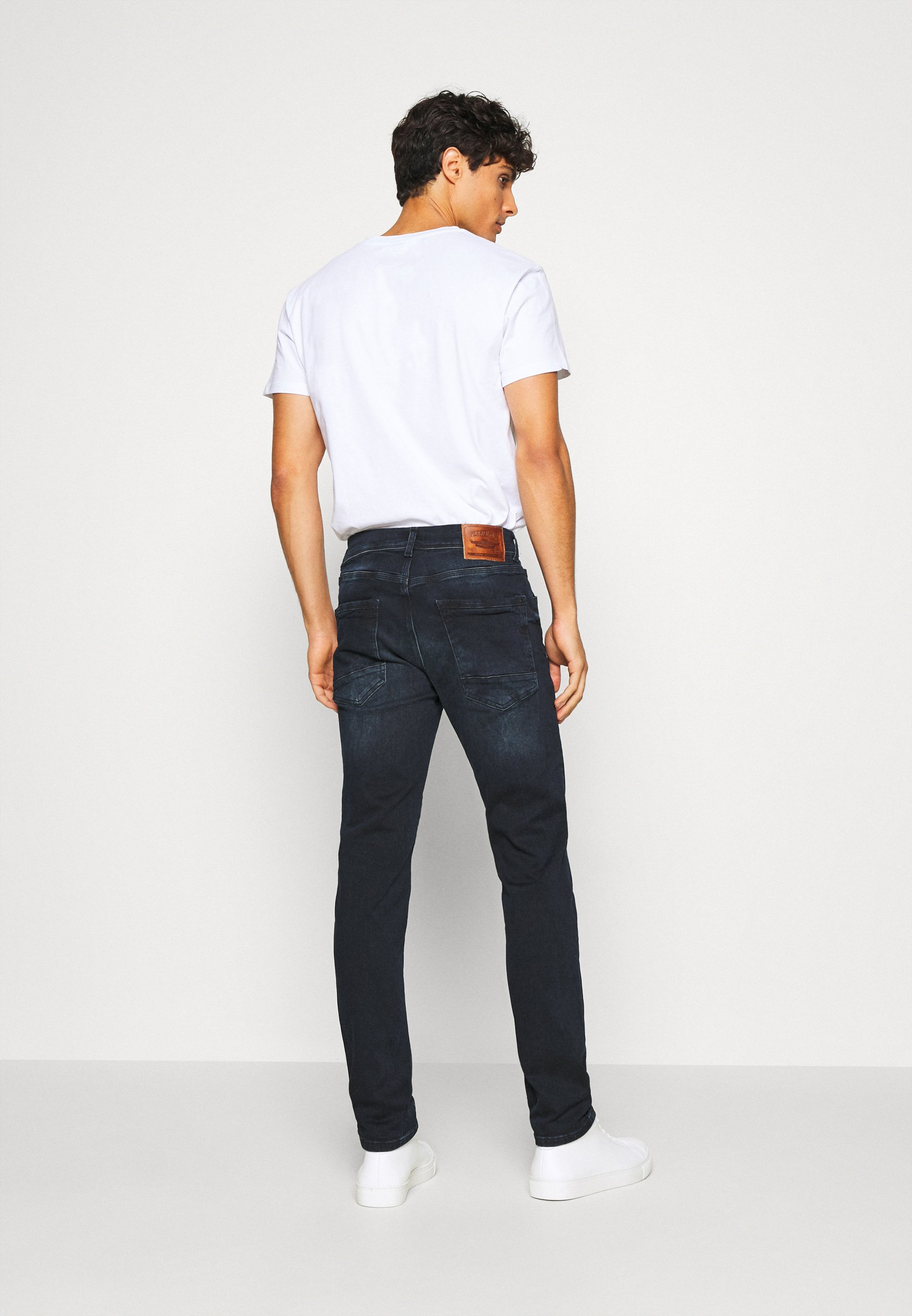 Petrol Industries JACKSON - Jean slim - blue/black