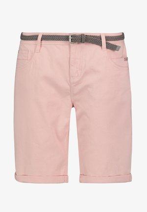 Denim shorts - light rose