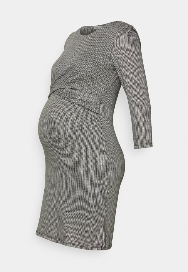 AUDREY - Jersey dress - gris
