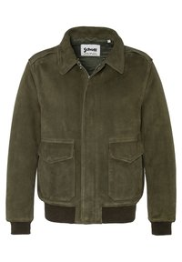 Schott - AVIATEUR  - Leather jacket - kaki - 2