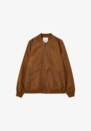 Bomber bunda - brown