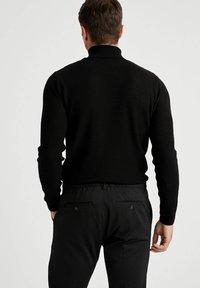 DeFacto - SLIM FIT - Maglione - black - 2