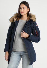Alpha Industries - POLAR JACKET - Vinterkappa /-rock - blue - 0