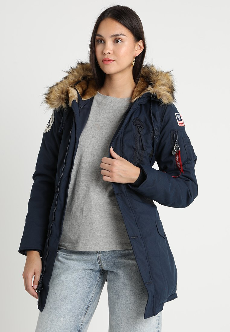 Alpha Industries - POLAR JACKET - Vinterkappa /-rock - blue