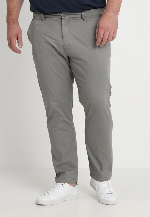 CAPSULE STRETCH PLUS - Chinos - light grey