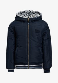 WE Fashion - REVERSIBLE WATERAFSTOTENDE WINTERJAS - Winterjas - dark blue - 1