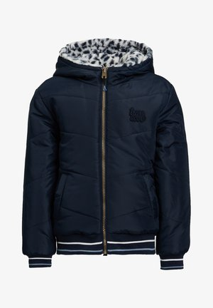 REVERSIBLE WATERAFSTOTENDE WINTERJAS - Winterjas - dark blue