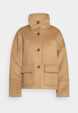 BLEND CROPPED JACKET - Summer jacket - warm khaki