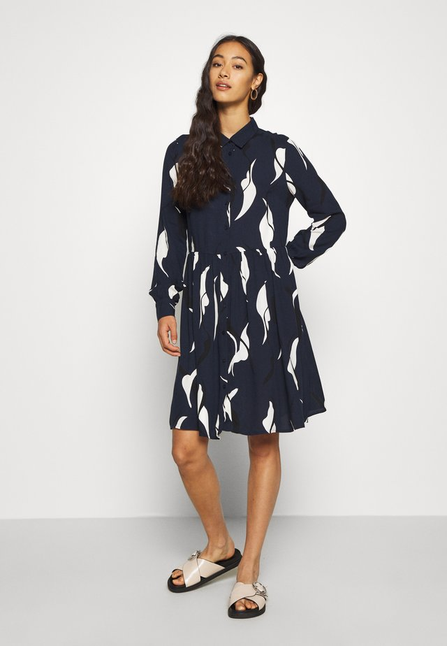 OBJALORA DRESS - Shirt dress - sky captain