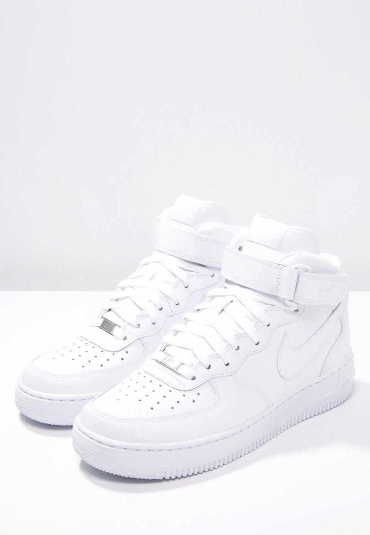 Directamente Movilizar Cincuenta  Nike Sportswear AIR FORCE 1 MID '07 - Sneaker high - white/weiß - Zalando.ch