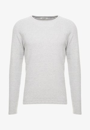 LAMP O-NECK - Jumper - light grey melange