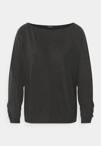 SEBOTA - Bluzka z długim rękawem - slate grey melange