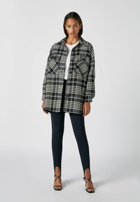 PULL&BEAR - Summer jacket - dark grey - 1