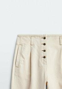 Massimo Dutti - Trousers - beige - 4