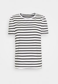 kate spade new york - STRIPE PUFF SLEEVE TEE - Print T-shirt - cream - 0