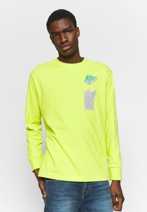 SPACE TYPHOON - Long sleeved top - sulphur spring