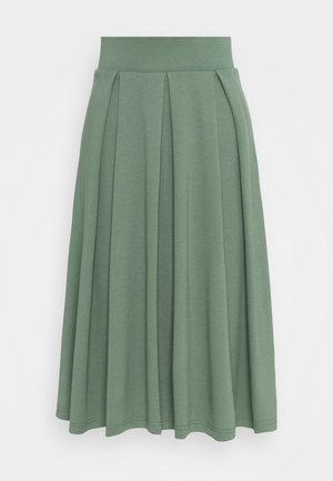 A-line skirt - light green