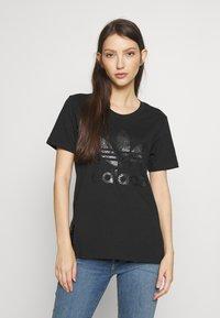 adidas Originals - TEE - Print T-shirt - black - 0