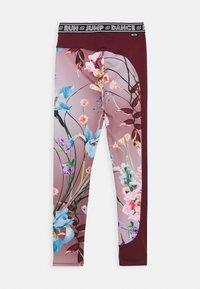 Molo - OLYMPIA - Leggings - light pink/bordeaux - 1