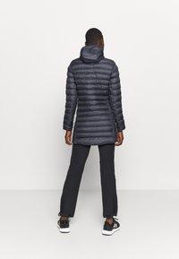 Salomon - SIGHT STORM HOODIE  - Winter coat - ebony - 2