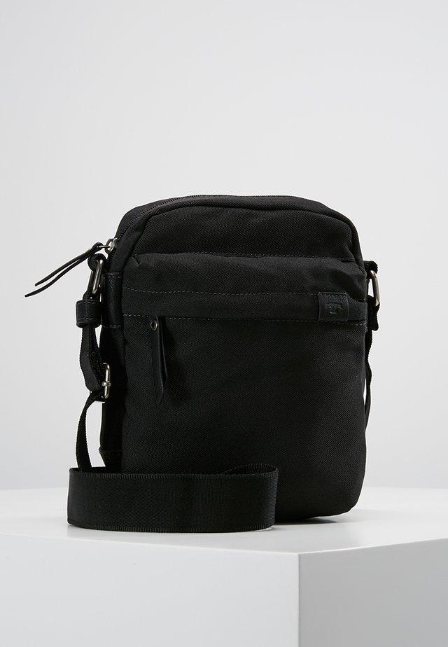 SIMON CROSSBAG - Sac bandoulière - black
