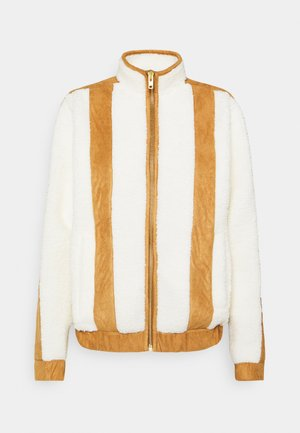 PILOT PILE JACKET - Lehká bunda - off white