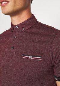 Burton Menswear London - CUFF - Polo shirt - burgundy - 5