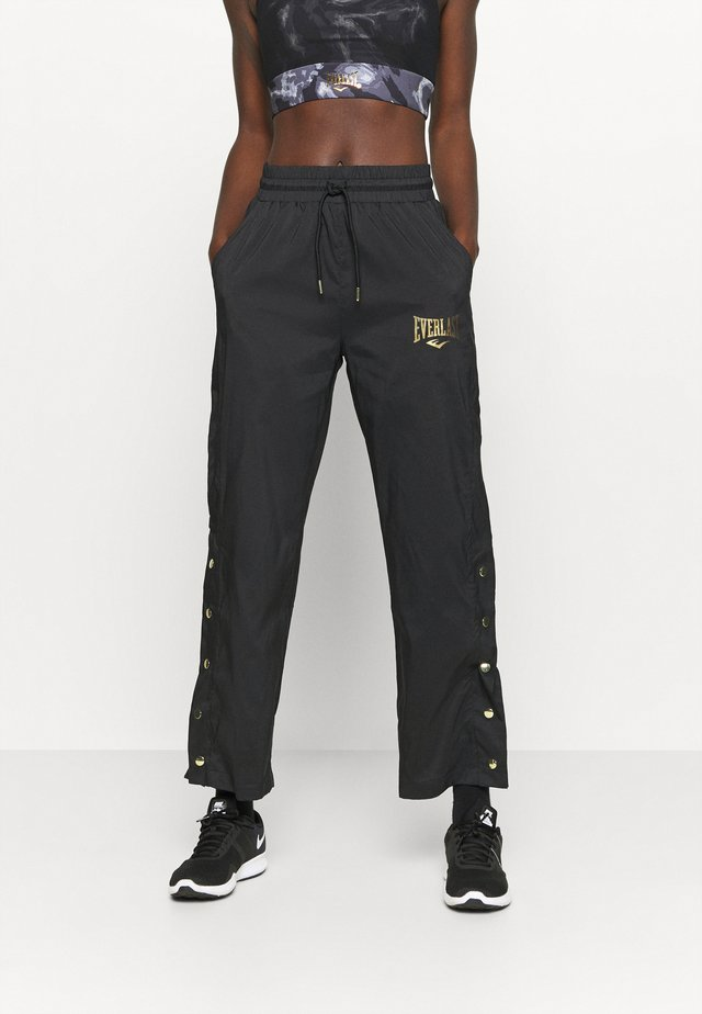 WOVEN PANT LOWEL - Trainingsbroek - black