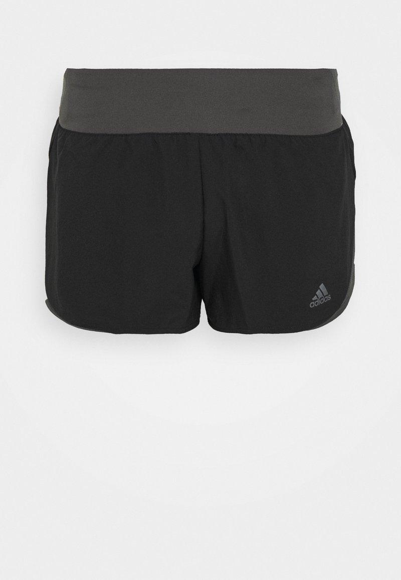 adidas Performance - RESPONSE CLIMALITE RUNNING SPORT 1/4 SHORTS - Sportovní kraťasy - black