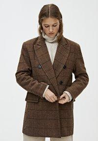 PULL&BEAR - Manteau court - brown - 3