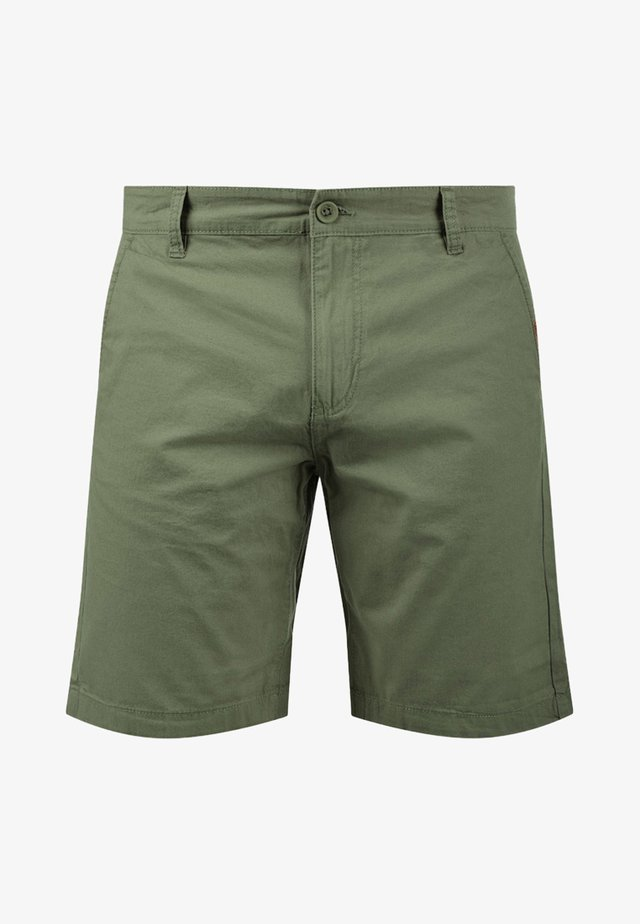 CHINOSHORTS THEMENT - Shorts - dusty olive