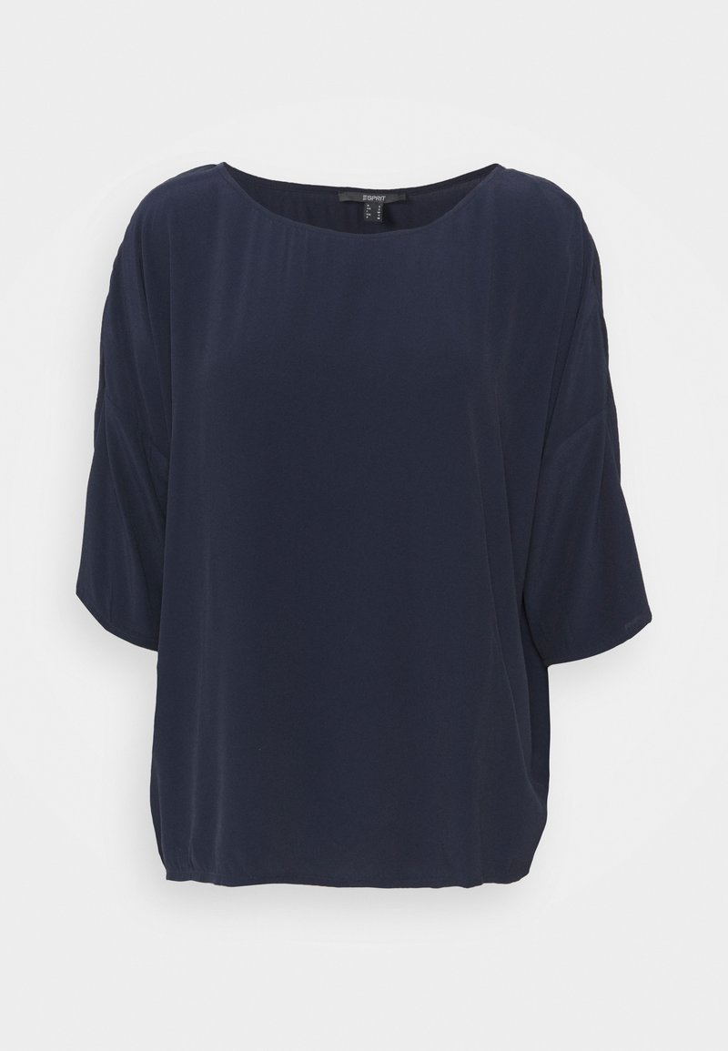 Esprit Collection - BLOUSE - Long sleeved top - navy